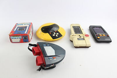 5 X Vintage Handheld Battery Operated Electronic Games Inc. GALAXY INVADER CGL • 21£