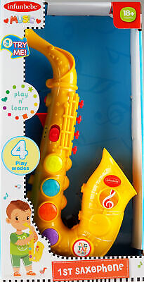 My First Saxophone Toy Musical Instrument - 18 Months + • 19.99£