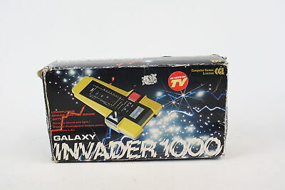 Vintage Boxed GALAXY INVADER 1000 Handheld Battery Operated Electronic Game • 26£