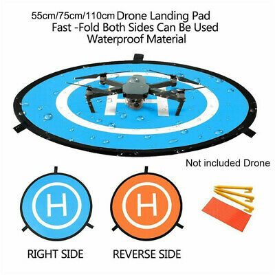 55/75/110cm Helicopter Landing Pad RC Drone Landing Mat Helipad Unmanned Aerial • 10.79£