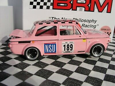 Brm Nsu Tt Simca 1000 #189 Brm 057  Pink 1:24 Slot New Old Stock Boxed • 6.50£