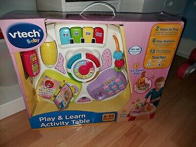 VTech Play & Learn Activity Table • 23.60£