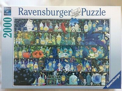 Brand New Ravensburger 2000 Piece Jigsaw Puzzle - POISONS AND POTIONS • 29.99£