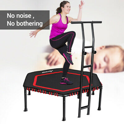 MOVTOTOP Foldable Fitness Trampoline For Kids Adults Home Cardio Exercise 48Inch • 76.59£