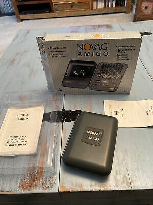 Novag Amigo Chess Computer Boxed • 30£
