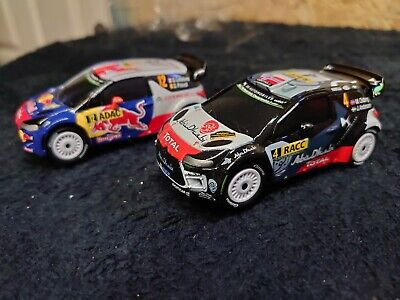 Carrera Go Cars.  X 2  Citroen Ds3 Wrc Rally Cars     • 30£