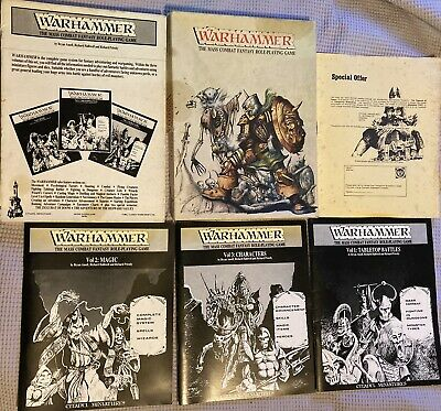 Warhammer The Mass Combat Fantasy Role Player Game • 0.99£