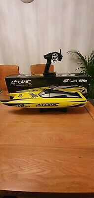 Volantex Racent Atomic 70cm Brushless Racing Speed Boat RTR  - Fast 60 KM/H • 41£