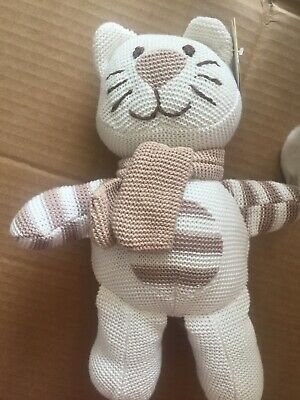 Cat Knitted Soft Toy Tiny Treasures BNWT  BR8 • 2.99£