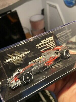 Minichamps Lewis Hamilton 2008 World Champion Collection • 50£