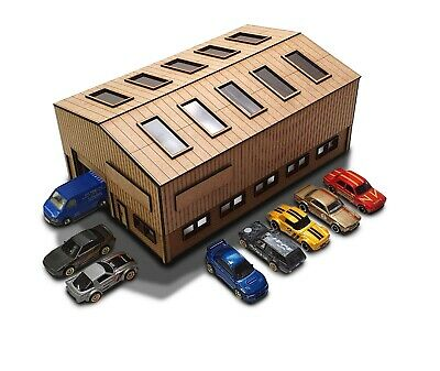 The Unit 1/64th Scale Garage Kit For Hot Wheels, Matchbox & Other Diecast Cars • 35.99£