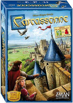 ✅ Official Carcassonne Board Game 2015 Z Man Board Games UK Stock ZM7810 • 21.99£