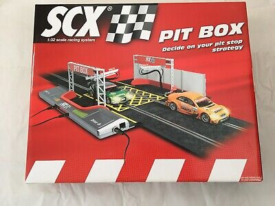Scalextric/Scx PIT BOX Track 1/32 Scale • 89.95£