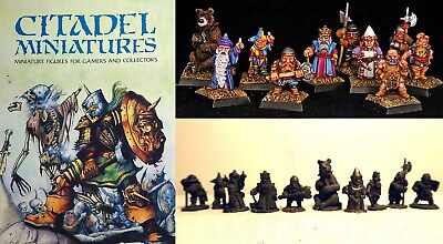 Citadel Collector's BOXED SET #2 The Dwarf King's Court ! Oop C. 1982 OLDHAMMER • 35£