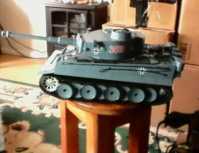 HENG LONG1/16 Rc TIGER 1  FULLY WORKING VERSION 6.0S READY TO COMPLETE VGC • 129£