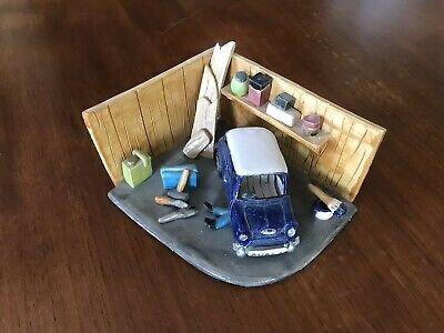 'Mini Renovation'  Ceramic Diorama • 15£