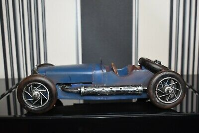 Large Vintage Detailed Tin Plate 1920/30s Style Display Model Or Toy Racing Car  • 85£