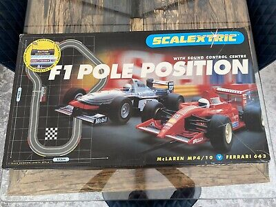 Classic Scalextric F1 Pole Position - Working • 30£