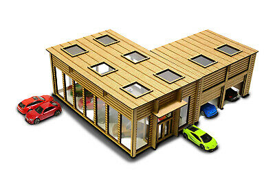 Showroom 1/64th Scale Garage Kit For Hot Wheels, Matchbox & Other Diecast Cars • 51.99£