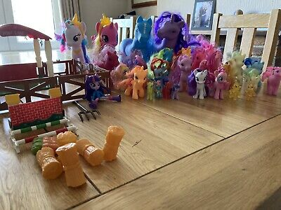 Collection Of Assorted Pony Toys And Equipment • 0.99£
