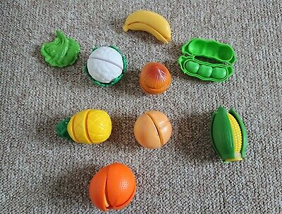 ELC Peelable Toy Fruit And Vegetables Set Toddler Peel Chop Slice Role Play Toy  • 1.50£