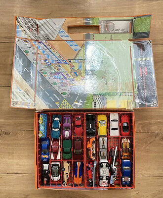 Vintage Carry Case And 48 Hot Wheels Diecast Cars See Images • 19.99£