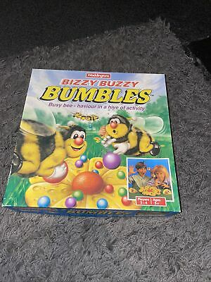 Waddingtons Bizzy Buzzy Bumbles Bees Vintage 1990s Board Game 100% Complete • 0.99£