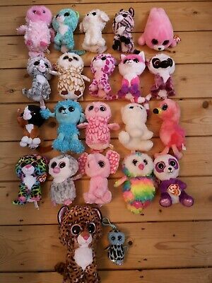 Gorgeous Bundle Of Ty Beanie Boo Soft Toys, Some Still With Tags Attached • 24.99£