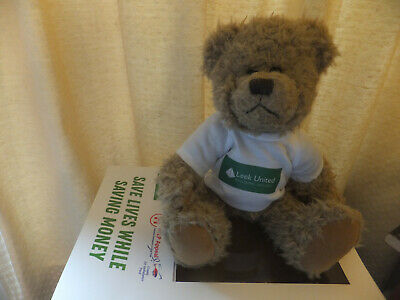 Air Ambulance Charity Teddy Bear (Leek Utd Buidling Society) • 2.99£