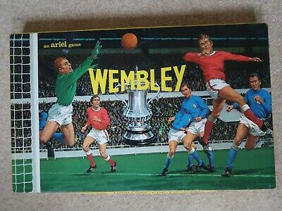 Vintage Board Game Ariel Wembley The Thrilling Cup Tie Game 1960s • 1.99£