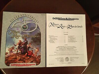 TSR - AD&D 2nd Ed.- Return To The Keep On The Borderlands - Module 11327 - 1999 • 15£