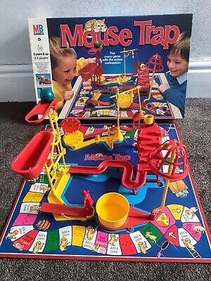 Mouse Trap Board Game (1989) - 100% Complete - Classic Big Box Edition -MB Games • 29.99£