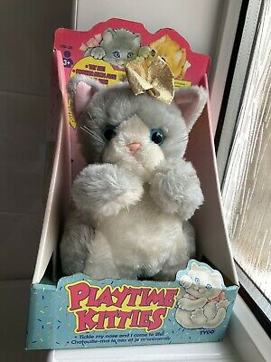 Vintage 1994 Tyco Playtime Kitties With Box • 34.85£