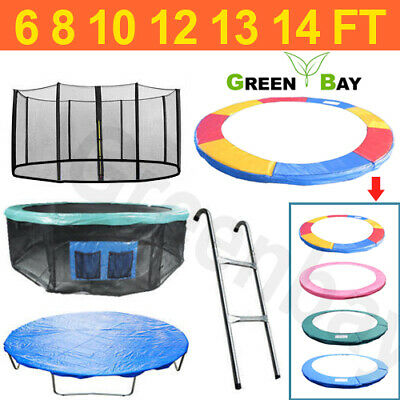 Trampoline Replacement Pad Padding Safety Net Cover Ladder Skirt 6 8 10 12 14ft • 79.95£