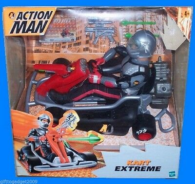 Hasbro Action Man Kart Extreme With Figure Rare Collectable NEW • 89.99£