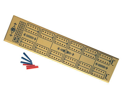 New Vintage Plastic Cribbage Board Pegs Crib Board 60 Holes For Pubs Clubs Bars • 7.99£