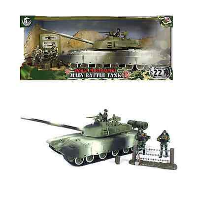 World Peacekeepers Military Main Battle Tank Army Toy With Figures 3+ Years • 34.99£