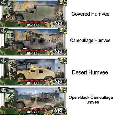 World Peacekeepers Assorted Military Humvee Army Toy With Figures One Supplied  • 26.99£