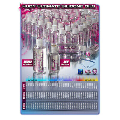 Hudy Ultimate Silicone Oil 10 000 Cst - 50ml - Hd106510 • 10.63£