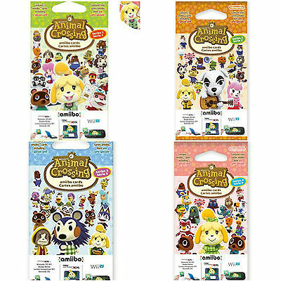 New Animal Crossing: Happy Home Designer - Amiibo Cards & Boxes - New & Sealed • 11.95£