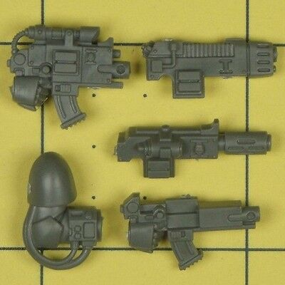 Warhammer 40K Space Marines Deathwatch Kill Team Bolter & Combi Weapon Parts • 2.50£