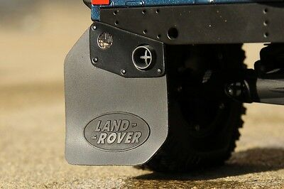 2017 NEW Rubber Mud Flaps For RC4WD Gelande Land Rover Defender D90 Axial Tamiya • 11.63£