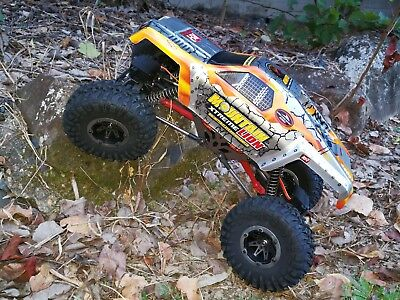 AU Store 2.4GHZ 1/10 RC 4WD 4WS Off-Road Brushed Rock Crawler Mountain Lion • 197.98£