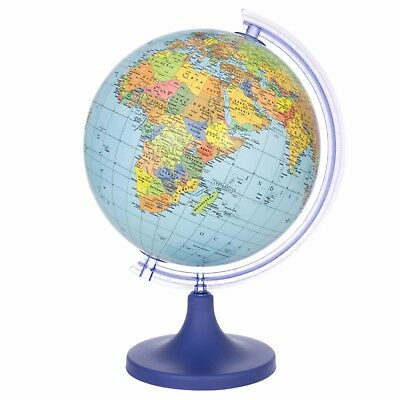 Discovery Globe Children's Globe World Globe Blue Political Map Geography NEW • 32£