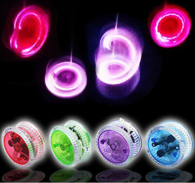 Light Up Yo Yo - Yellow Green Blue Red Pink Purple Orange Suitable For Age 3+ • 4.99£