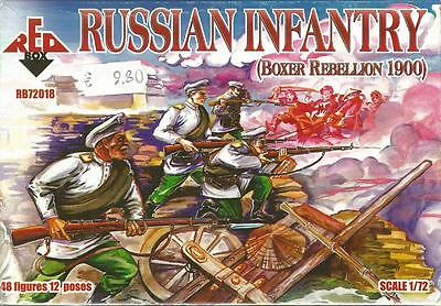 Red Box 1:72 Toy Soldiers Russian Infantry (boxer Rebellion 1900) Art Rb72018 • 8.64£
