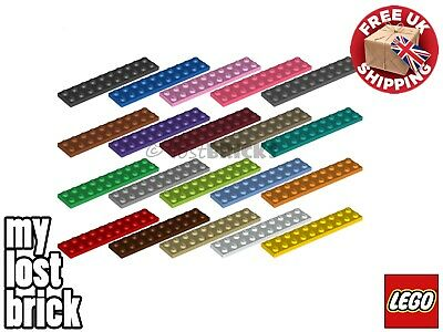 5 X NEW LEGO Plates 2x10 (Part 3832) + SELECT COLOUR ++ FREE POSTAGE • 2.75£