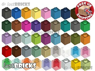 10 Pack Of NEW LEGO Bricks 1x1 (Part 3005) + SELECT COLOUR ++ FREE POSTAGE • 2.25£