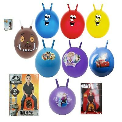 19  Large Inflatable Kids Space Hopper Jump Bounce Retro Ball Rideon Outdoor Toy • 13.99£