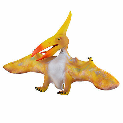 Large 20  (50cm) Soft Stuffed Rubber Dinosaur Pterosaur  Realistic Jurassic Toy • 12.60£